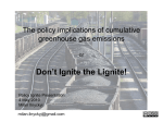 The policy implications of cumulative greenhouse gas emissions or