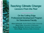 Montana State University Teaching Climate Change