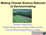 Strategic Plan for the US Climate Change Science Program