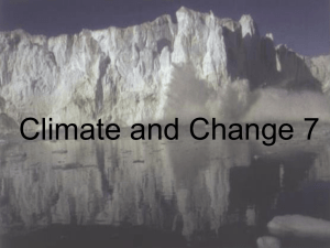 Climate and Change 7 ppt for teaching