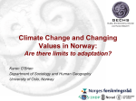 OBrien- Climate Change in Norway