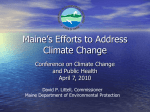 Federal Climate Legislation Good for Maine Business