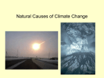 Natural Causes of Climate Change - Cal State LA