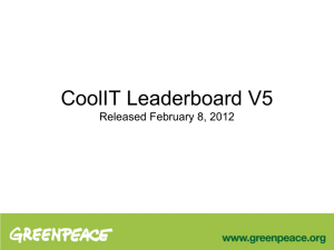 CoolIT Leaderboard V5 Released February 8, 2012