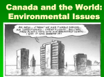Environmental Issues: Global warming, climate change, energy use