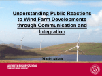 Understanding Public Reactions to Wind Farm Developments