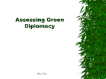 Assessing Green Diplomacy