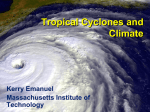 Predicting Hurricanes and Hurricane Risk