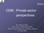 Private Sector Perspective