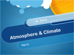 Atmosphere & Climate - Liberty Union High School District