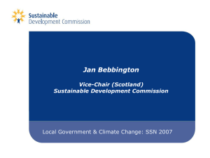 Sustainable development Commission