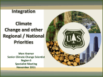 6. Integrating Climate Change