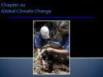 ch. 20 global climate change