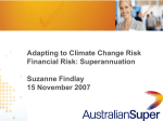 Adapting to climate change - Australian Industry Group