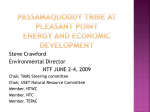 SteveCrawford_Passamaquoddy energy and economic projects