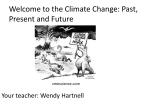 Week 1 Climate Change Presentation Introduction