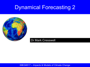 [07] Dynamical Forecasting 2