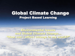 PBL Global Climate Change powerpoint 2015