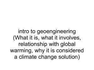 Introduction_to_Geoengineering_2 - FNG4-7-2011