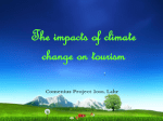 The impacts of climate change on tourism