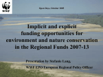 An Environmental Planning Manual for Regions in Europe