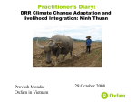 Climate Change Adaptation in Ninh Thuan - VUFO