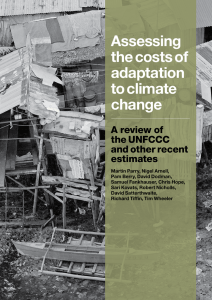 Assessing the costs of adaptation to climate