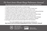 The Forest Service Climate Change Performance Scorecard