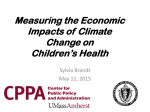 Measuring the Economic Impacts of Climate Change on Children's Health
