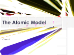 The Atomic Model