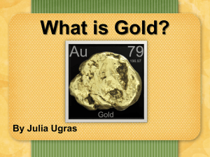 Element Research Project (Gold1) - PowerPoint Presentation