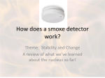 How does a smoke detector work?
