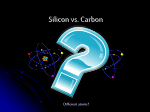 Silicon vs. Carbon - Coristines