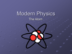 Modern Physics - WordPress.com