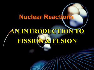 Fission and Fusion Power Point