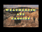 Earth Science The Forces of Weathering and Erosion PPT