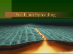 Sea Floor Spreading - Dallastown Area School District