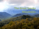 The Great Smoky Mountains - St.Mary's Parish Annapolis