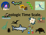 Geologic Time Scale - CVHS Chicklas