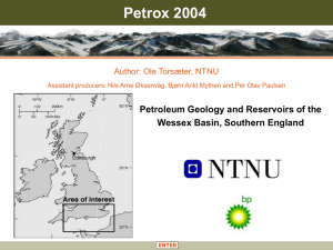 Petroleum Geology and Reservoirs of the Wessex Basin