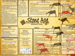 Year 3 – Autumn 1 – Stone Age