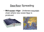 Sea-floor Spreading Section 4-4