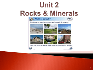 Igneous Rocks - Skyline R2 School