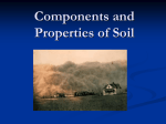 Components and Properties of Soil