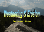 Weathering Notes