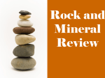 Rock and Mineral Review