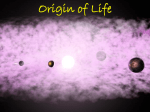 Origin of Life - Cloudfront.net