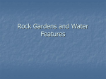 Rock Gardens and Water Features