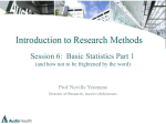 Research Methods lecture 6 and 7 Slides