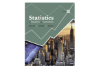 Confidence Interval for µ - Department of Statistics and Probability